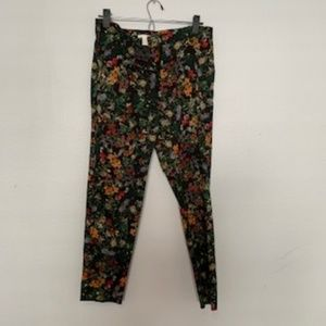 H&m Floral Dress pants, Size 8